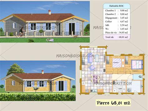 maison bois autoconstruction prix prix d une maison en autoconstruction 14 plan gratuit de maison en bois en kit evtod