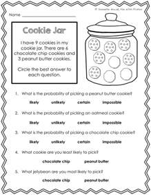 math for second grader with firsties our probability unit worksheets activities lessons and assessment