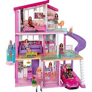 barbie dreamhouse dollhouse  pool  elevator