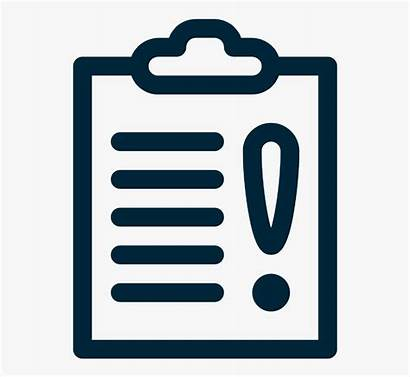 Icon Rules Important Document Notice Issue Warning