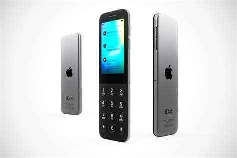 what of phone is this apple idot is a major u turn to the quot dumbphone quot area