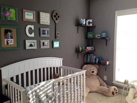 baby boy nursery  collage wall greynursery baby miz