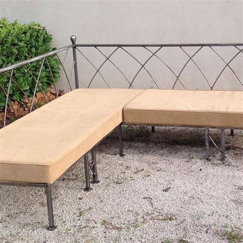 canapé d angle fabrication française canapé d 39 angle sur mesure en fer forgé fabrication