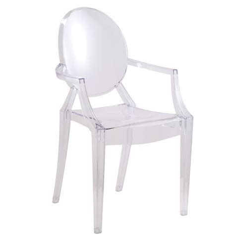 designer modern louis ghost arm chair