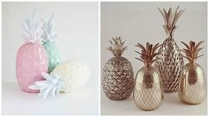 Objet Deco Ananas : tendance d co l ananas pour un hiver vitamin myhomedesign ~ Teatrodelosmanantiales.com Idées de Décoration