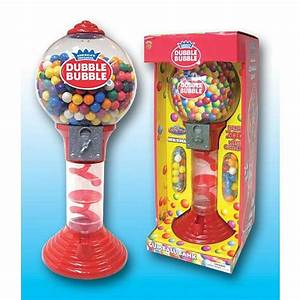 """Gumball Machine Grand Sales: Dubble Bubble 24"""" Gumball Bank"""