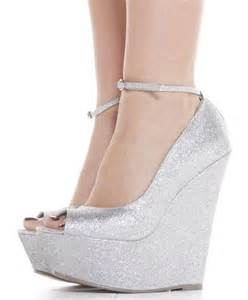 silver wedge bridesmaid shoes 17 best images about shoes on prom shoes silver bridesmaid shoes and silver wedding