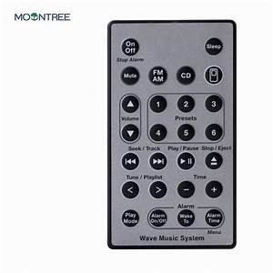 New Remote Control For Bose Wave Music System Remote
