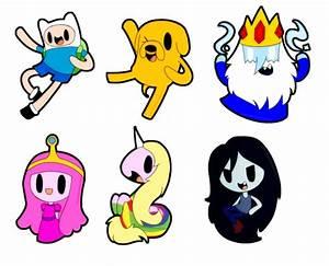 Adventure Time Chibis by SilviShinystar on DeviantArt