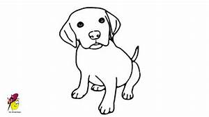Baby Dog - Pets and Animals - Easy Drawing - how to draw a ...