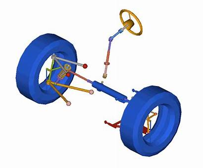 Suspension Mechanical Simulation Animations Engineering Race Example