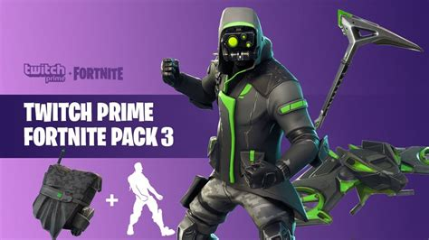 twitch prime skins fortnite battle