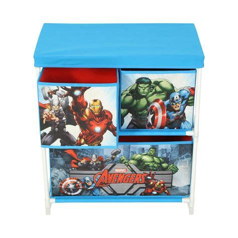 Avengers Bedroom Furniture by Marvel Avengers Kids Storage Box 3 Drawers Bedroom Furniture