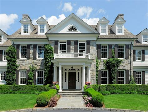 Stunning Interiors For The Home - 14 000 square foot georgian colonial mansion in greenwich ct homes of the rich