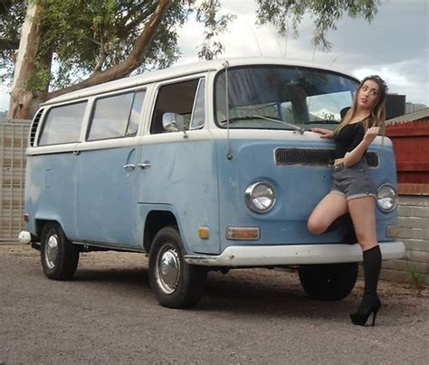 Sell Used 1971 Vw Bus Transporter Bay Window Van Type 2