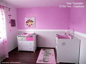 Chambre Fille 4 Ans : superbe deco chambre fille 4 ans 4 cadeau de naissance ~ Teatrodelosmanantiales.com Idées de Décoration