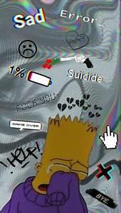 Bart Simpson Sad Boy Wallpaper  Amatwallpaperorg