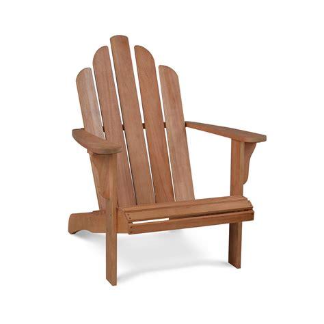 chaise de jardin en bois fauteuil de jardin bois adirondack pas cher eucalyptus fsc