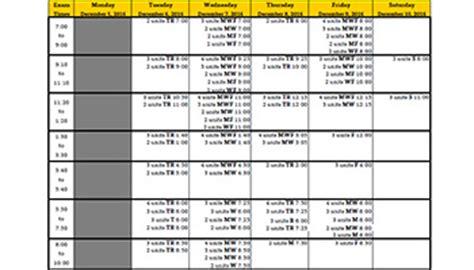 semester calendars time modules cal state la