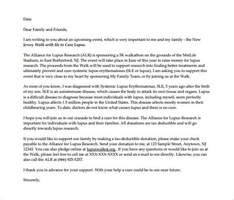 fundraising letter template 9 fundraising letter templates free sle exle format free premium templates
