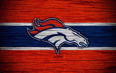 Download wallpapers Denver Broncos, NFL, 4k, wooden ...