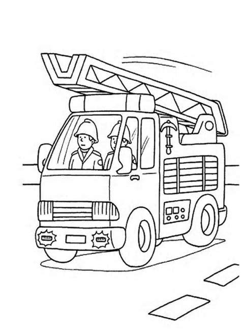 Kleurplaat Brandweer Peuters by Fireman Coloring Pages Kleurplaten Brandweer En