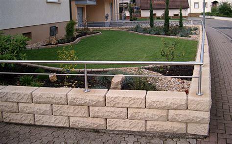 mauern hangbefestigungen natursteinmauern