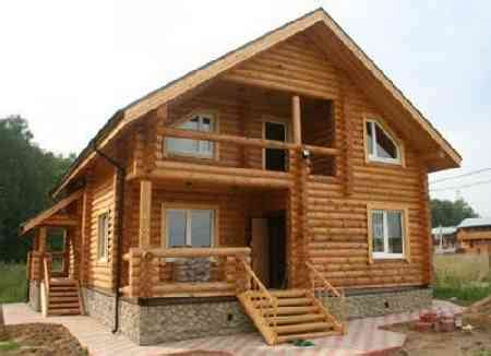 rumah  kayu  minimalis  sederhana