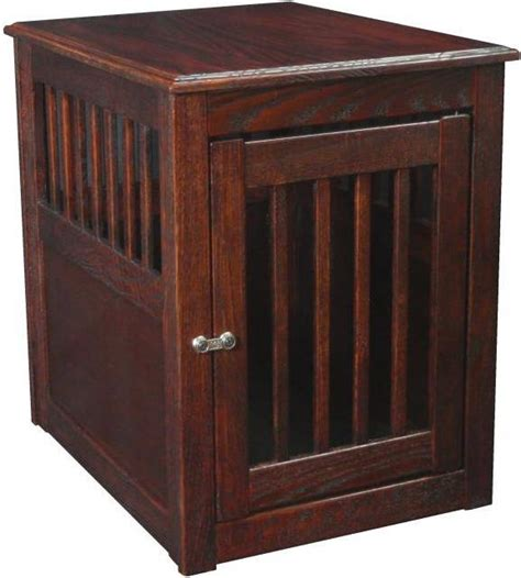 dog cage end table end table dog crate furbabies pinterest