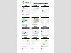 Calendario Laboral Guipuzcoa 2019