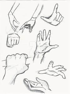 Hand Study/ Anime hands by Yflynn on DeviantArt