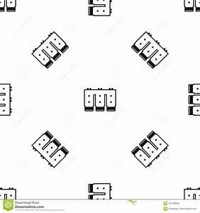 electronic circuit board pattern seamless black stock With electronic circuit board 4