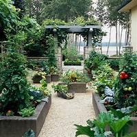 raised vegetable garden Raised Garden Bed Inspiration - The Inspired Room