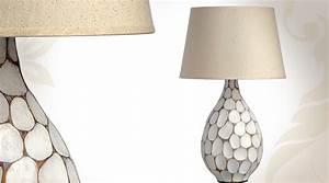 Lampe A Poser Contemporaine : lampe de table style contemporain en bois forme vase ~ Teatrodelosmanantiales.com Idées de Décoration