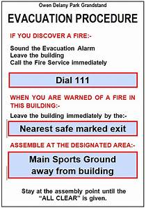 Event safety taupo district council for Fire evacuation plan template for office