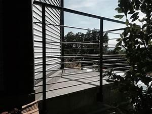 Garde Corps Terrasse Aluminium : installateur de garde corps aluminium inox vitre design acces creation fermetures ~ Melissatoandfro.com Idées de Décoration