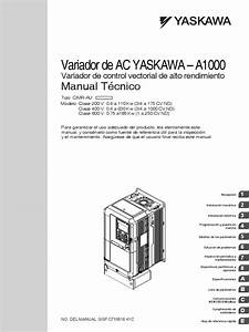 Yaskawa A1000 Drive Manual Pdf