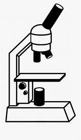Dibujo Microscopio Colorear Coloring Microscope Netclipart sketch template