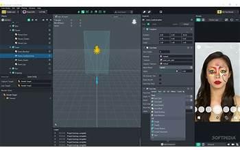 Lens Studio screenshot #0