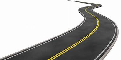 Road Clipart Curve Roads Curved Clip Cliparts