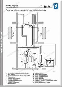 Volvo B12m Pneumatic Diagram Brake System Suspension