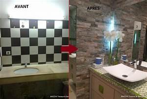 Salle De Bain Avant Après : r novation d coration appartement villa home staging ~ Preciouscoupons.com Idées de Décoration