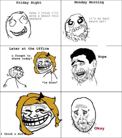 Know Your Meme Troll Face - image 241523 trollface coolface problem know your meme