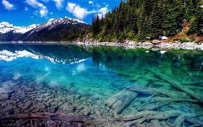 Lake Nature Landscape Wallpapers Desktop Clear Water