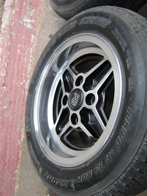 5 Genuine Ford Rs Style 6 X 13 Laser Wheels And Tyres