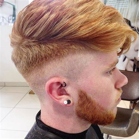 Amazing Skin Fade Pompadour by James Beaumont