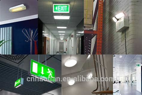 china manufacture wall mount emergency lights for