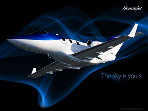 honda jet private planes aircraft background