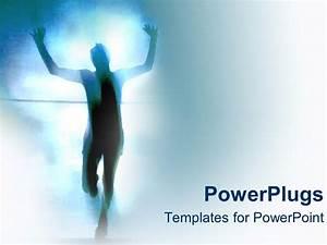 PowerPoint Template: personal race success achievement ...