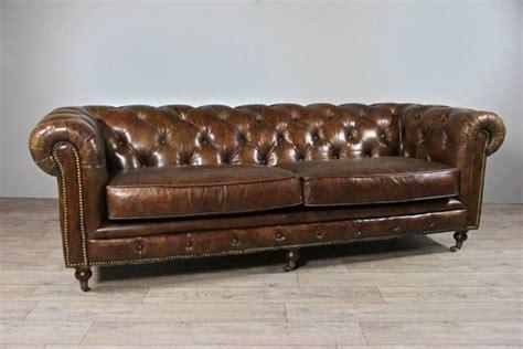 Altes Leder Kaufen by Vintage Leder Chesterfield Sofa 3 Sitze In Cressier Kaufen